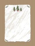 Het document van Kerstmis stock illustratie