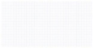 Het document van het schoolnotitieboekje netkunst in een kooi Gestippelde lijnlijst Royalty-vrije Stock Afbeeldingen