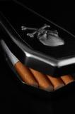 Het doden van sigaretten Royalty-vrije Stock Foto's