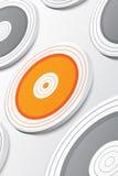 Het doel Raak het doel 3d model van de doelstellingen Zaken, I Stock Fotografie