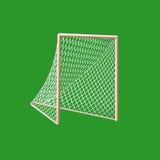 Het doel van de lacrosse. Royalty-vrije Stock Foto's