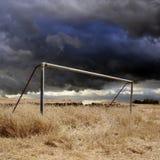 Het doel van de voetbal Royalty-vrije Stock Foto
