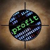 Het doel van de Webwinst Stock Afbeeldingen