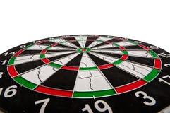 Het doel van het dartboard Stock Afbeelding