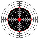 Het doel van het geweer Stock Foto's