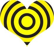 Het doel van het hart Stock Afbeelding
