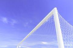 Het Doel van het voetbal Stock Afbeeldingen