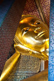 Het Doen leunen van Boedha bij watpho in Thailand royalty-vrije stock fotografie