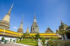 Het doen leunen van de tempel van Boedha (Wat Pho) Royalty-vrije Stock Afbeelding