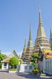Het doen leunen van de tempel van Boedha (Wat Pho) Royalty-vrije Stock Afbeeldingen