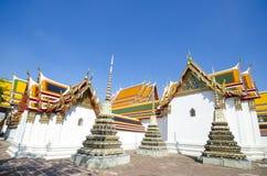 Het doen leunen van de tempel van Boedha (Wat Pho) Stock Foto