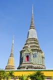 Het doen leunen van de tempel van Boedha (Wat Pho) Royalty-vrije Stock Foto