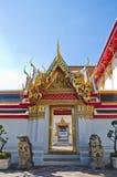 Het doen leunen van de tempel van Boedha (Wat Pho) Stock Fotografie