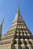 Het doen leunen van de tempel van Boedha (Wat Pho) Stock Foto's