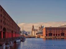 Het dok van Albert, Liverpool Stock Foto's