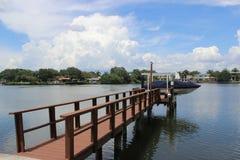 Het dok van Florida royalty-vrije stock afbeeldingen