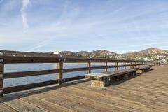 Het Dok in Ventura Beach stock afbeelding