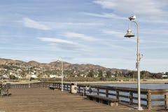 Het Dok in Ventura Beach stock fotografie