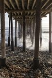 Het Dok in Ventura Beach royalty-vrije stock fotografie