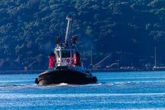 Het Dokken van het Schip van de Sleepboot van de haven stock foto's