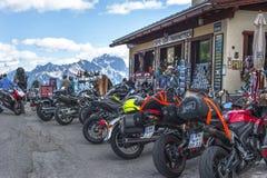 In het Dolomiet Stock Foto's