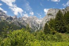 Het Dolomiet royalty-vrije stock afbeelding
