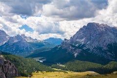 Het Dolomiet, Italië Stock Afbeeldingen