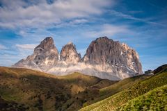Het Dolomiet, Noordelijk Italië stock afbeelding