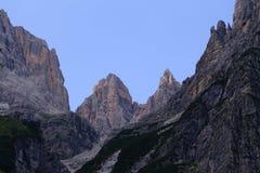 Het Dolomiet van Brenta Royalty-vrije Stock Afbeeldingen