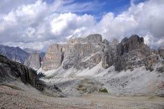Het Dolomiet van het landschap Royalty-vrije Stock Foto's