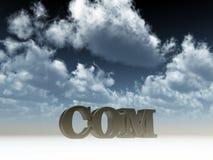 Het domein van Com stock illustratie