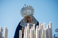 Het Dominicaanse Broederschap van Heilige Christus van de Overwinning, Onze Dame van de Rozentuin in Haar Treurige Geheimen royalty-vrije stock afbeelding