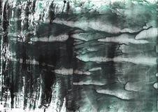 Het donkere document van de lei grijze nevelige waterverf Stock Foto