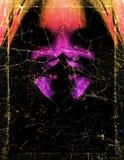 Het donkere Malplaatje van de Affiche vector illustratie
