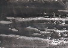 Het donkere ontwerp van de lei grijze vage gewassen tekening Stock Foto