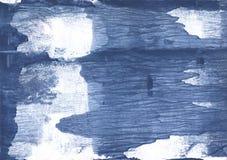 Het donkere patroon van de lei blauwe nevelige waterverf Royalty-vrije Stock Foto's