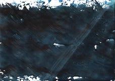Het donkere patroon van de lei grijze vage waterverf Royalty-vrije Stock Fotografie