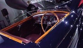 Het donkere Type van Bugatti van 1939 57C door VanVooren Stock Foto's