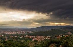 Het donkere weer van Montecatini Royalty-vrije Stock Foto's