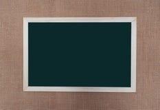 Het donkergroene bord stock foto's
