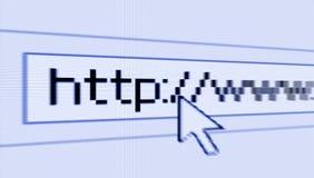 Het doorbladeren van Internet royalty-vrije illustratie