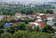 Het dorp Stock Afbeelding