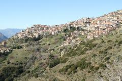 Het dorp Stock Afbeeldingen