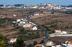 Het dorp in de bergen Royalty-vrije Stock Afbeeldingen