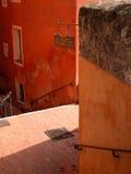 Het dorp Grasse Stock Afbeeldingen