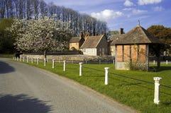 Het Dorp Herefordshire van Eastnor stock fotografie