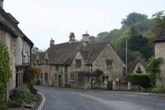 Het Dorp het UK van kasteelcombe Stock Afbeelding