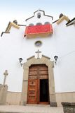 Het dorp Jaen Spanje van La Iruela van de kerk Stock Foto