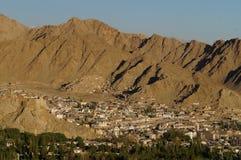 Het dorp in Leh, Ladakh, India Royalty-vrije Stock Fotografie
