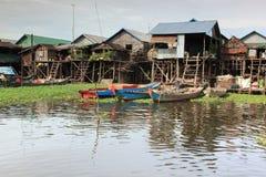 Het dorp op het water Royalty-vrije Stock Fotografie